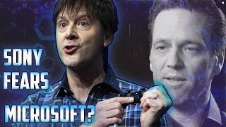 So Apparently Sony Is Scared of Microsoft According To Xbots!!