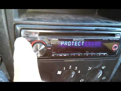 dica tirando o protect do cd Kenwood