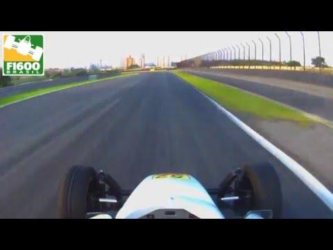 F1600 Testes Interlagos - Camera Onboard Carlos Freitas