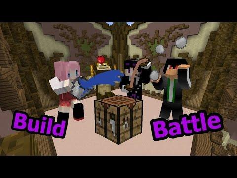 [Minecraft Battle-Build] ชนะอีกแล้ว ft. AjaA