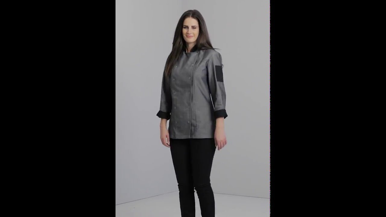 3ae0d3a54 Denim Chef Jacket & Leg Twill Trouser | Simon Jersey - YouTube