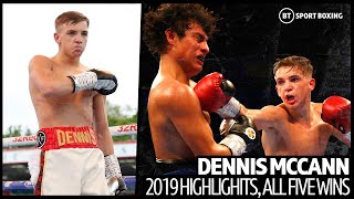 The future of British boxing? Dennis McCann 2019 highlights | Five fights, five wins