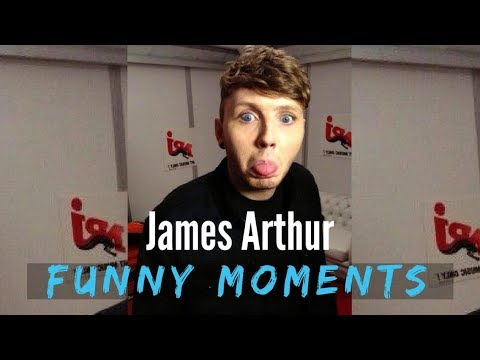 JAMES ARTHUR FUNNY MOMENTS