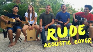 Rude - MAGIC! Acoustic COVER by Small Town Sound