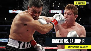 FULL FIGHT | Canelo vs. Carlos Baldomir (DAZN REWIND)