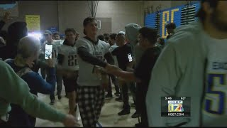 BCHS rally before Saturday's CIF Div. 3 state championship