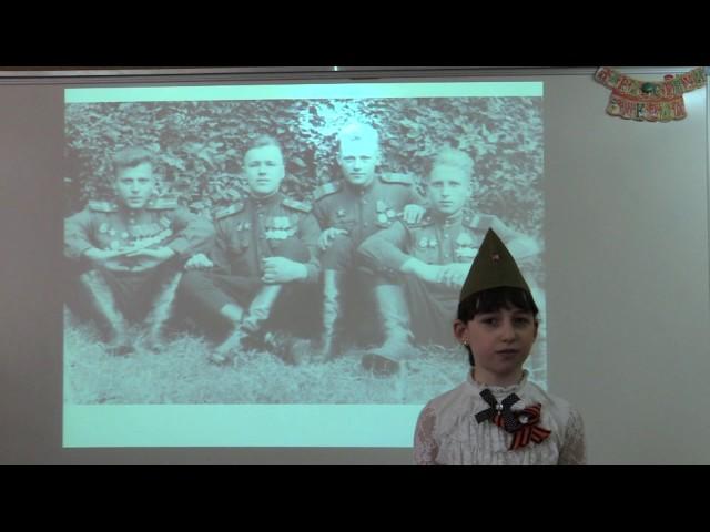 Изображение предпросмотра прочтения – ДарьяМайорова читает произведение «На фотографии в газете» Р.Ф.Казаковой