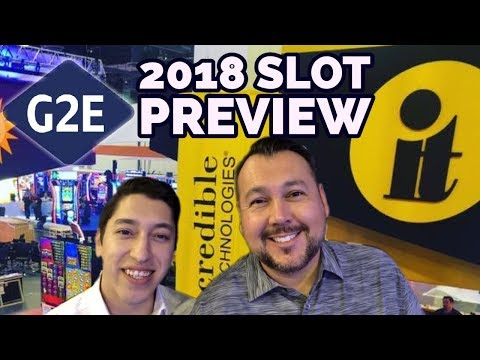 G2E 2018 IT - Incredible Technologies New Slots Preview