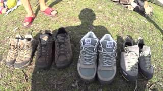 Обзор походной обуви Salewa, Lowa, New Balance, Merrell