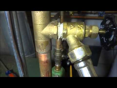 boiler leaking water out relief valve