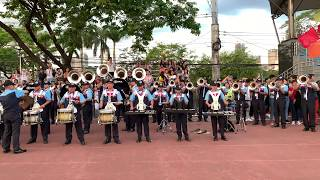 Kahit Ayaw Mo Na - This Band (Makati City Lancers Drum &amp Bugle Corps COVER)