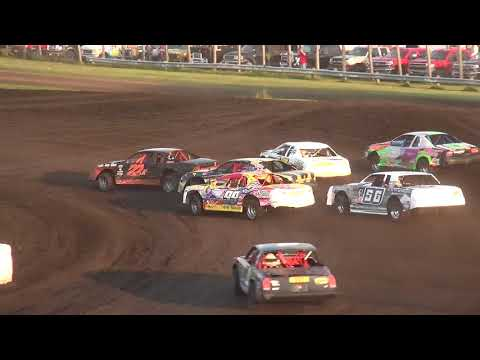 IMCA Stock Car Heats Benton County Speedway 8/20/17