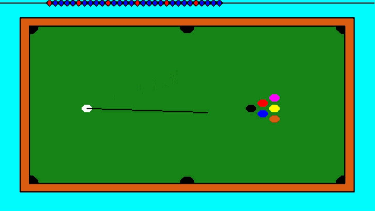 AMIGA Pool OTHER ~ BILLIARDS AMIGA OCS 1987 True Basic adf zip
