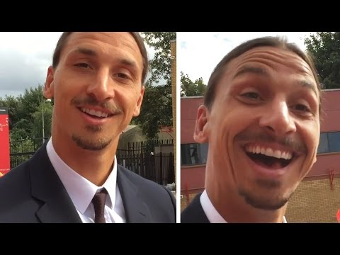 CheekySport Meet Zlatan Ibrahimovic After The Manchester Derby!