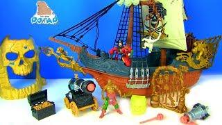 PIRATES! Toys For Kids Нападение Пиратов Акул! Видео для детей! Мультик с игрушками