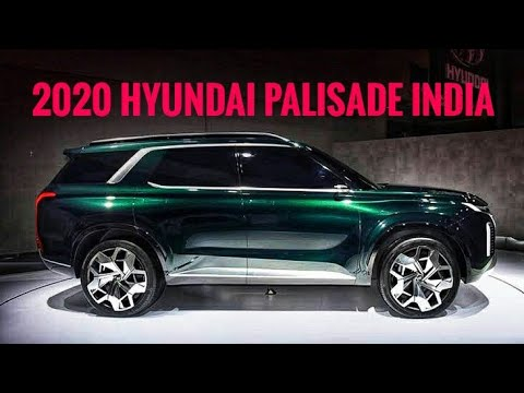 All New 2020 Hyundai Palisade India Launch Date, Price, Specs, Colour Variants, Features.
