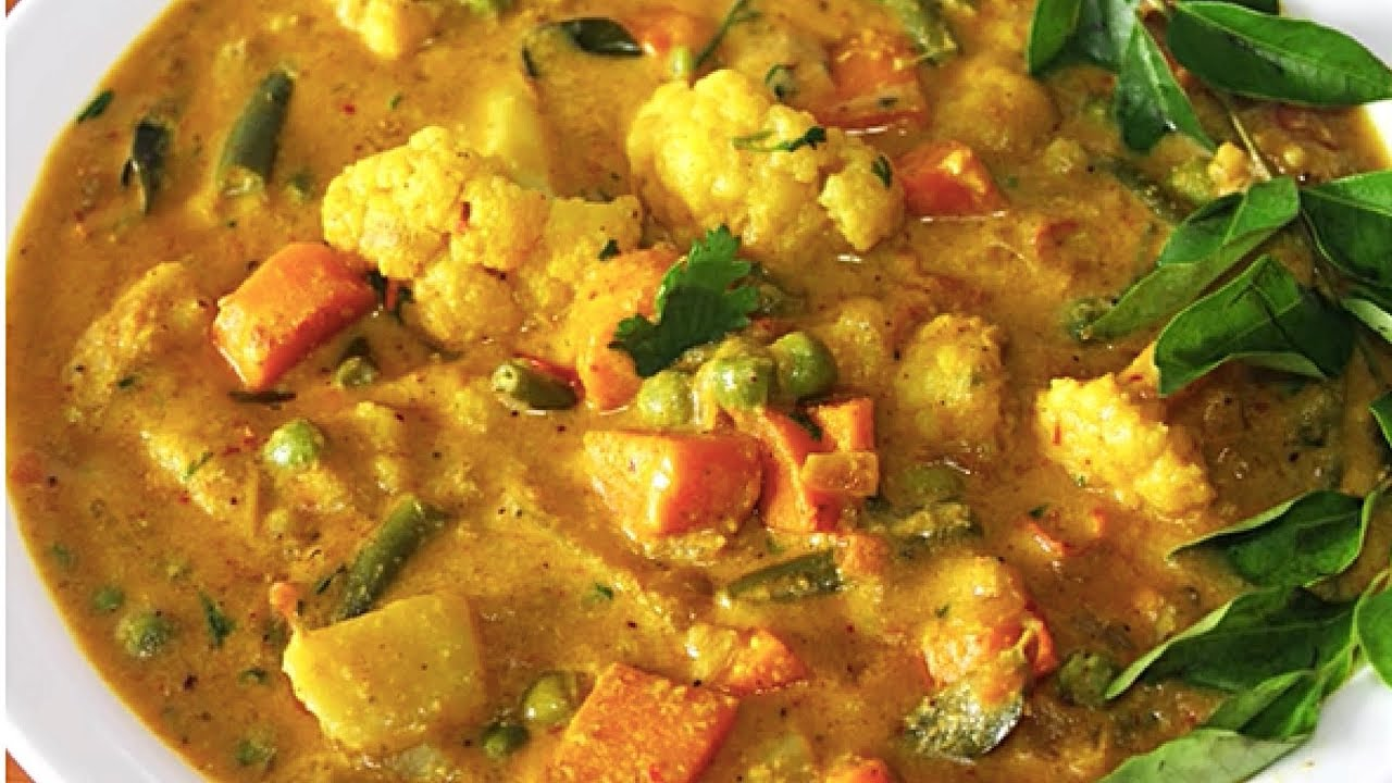 Veg Kurma | South Indian Restaurant Style Gravy Recipe | Kanak's Kitchen -  YouTube