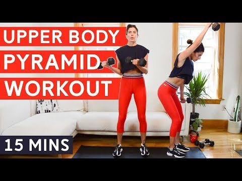 Stacked Pyramid Workout: Upper Body