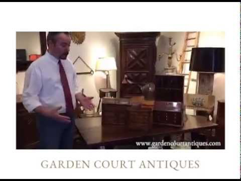 Garden Court Antiques - Miniatures, antique furniture-maker models