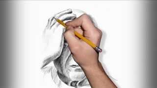 Artistic pencil portraits - Famous people (Video Sketches by eKolonjaStudio)