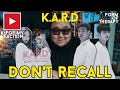 Producer Reacts to K.A.R.D