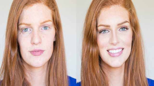 Maskcara S Simple Redhead Makeup Makeover Youtube