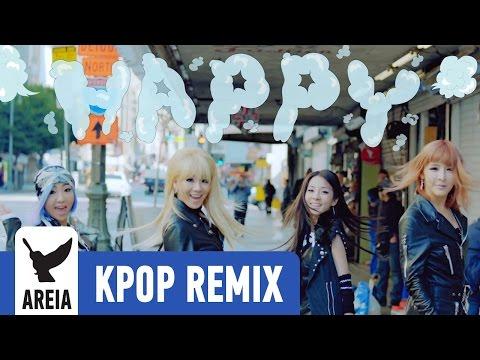 2NE1 - Happy   Areia Kpop Remix #153