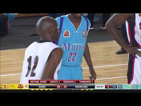 BNL 2015 - Kwazulu Marlins vs Tswane Suns 20 June 2015