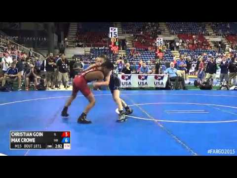 88 Cons. Round 5 - Max Crowe (Minnesota) vs. Christian Goin (Illinois)