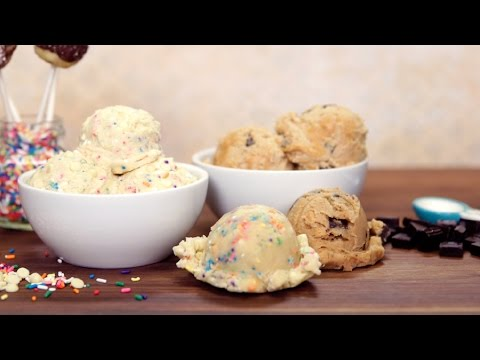 Birthday Cake Cookie Dough Recipe That's Safe to Eat | Get the Dish
