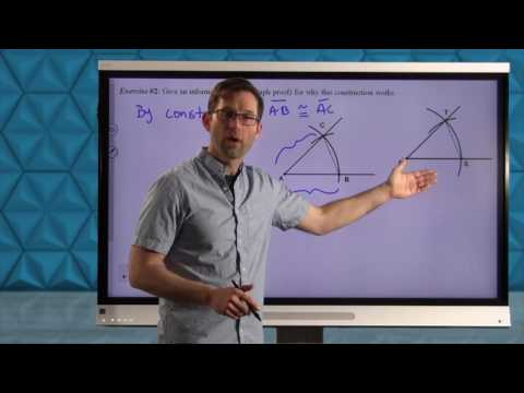 Common Core Geometry.Unit #4.Lesson #2.Constructing Angles and Parallel Lines