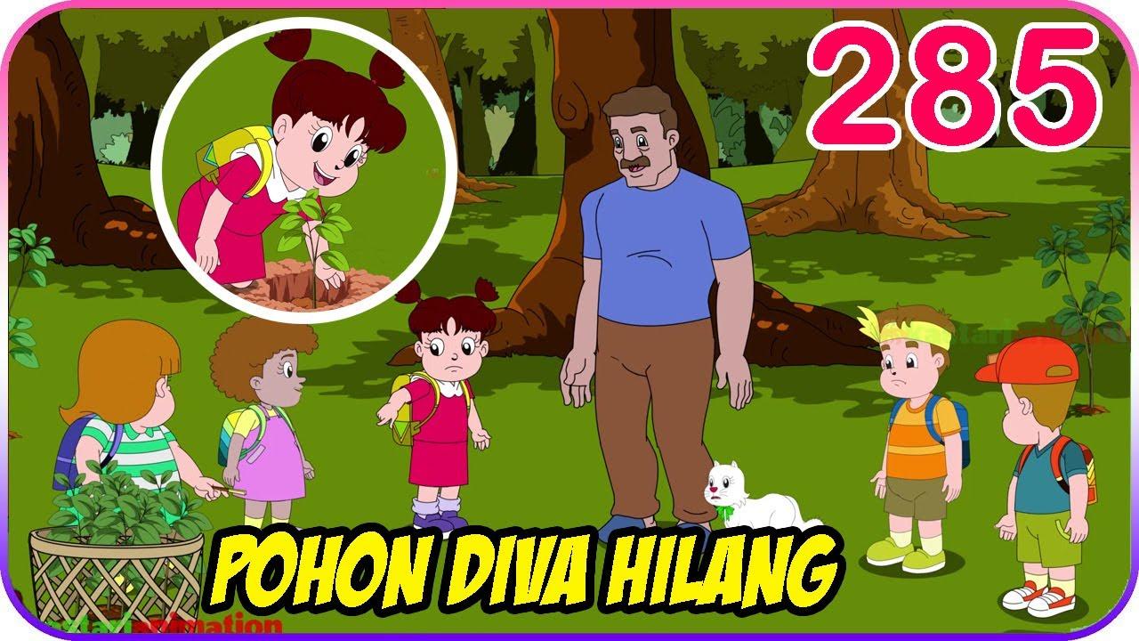 Seri Diva | Eps 285 POHON DIVA HILANG [ DIVA MENANAM POHON ] | Diva The Series Official