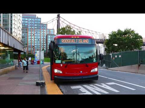 "Roosevelt Island Operating Corporation 2016 New Flyer XD40 ""Xcelsior"" #9"