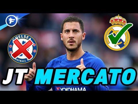 Hazard refuse de prolonger à Chelsea | Journal du Mercato