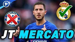 Hazard refuse de prolonger à Chelsea | Journal du Mercato