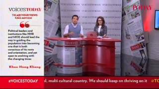 Voicestoday Asks: How Can We Build A Strong Singapore Culture?