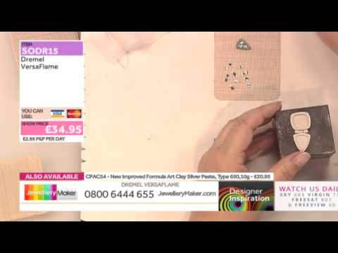 Learn How to Make Silver Clay Jewellery - JewelleryMaker DI LIVE 22/04/15