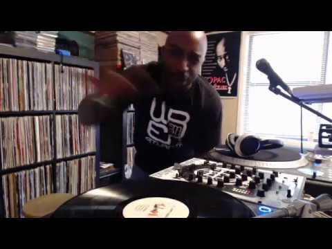 Worldwide DJ TakTixX - Practicin on Vinyl
