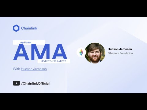 Video AMA with Hudson Jameson of the Ethereum Foundation
