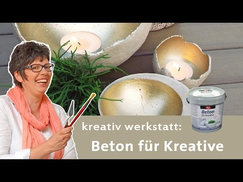 diy trend gartendeko aus beton zum kneten knetbeton funnycat tv. Black Bedroom Furniture Sets. Home Design Ideas