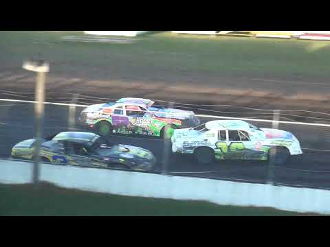 IMCA Stock Car Heats Benton County Speedway 8/13/17