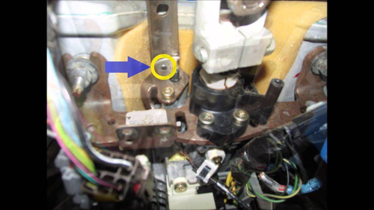 1997 Ford Ranger Shifter Linkage Bolt Repair  YouTube