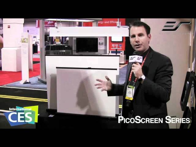 PicoScreen Series live from CES 2012. Las Vegas, NV