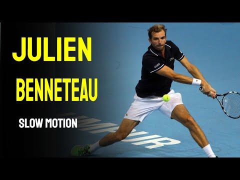 Julien Benneteau Slow Motion - Cincinnati Masters 2014