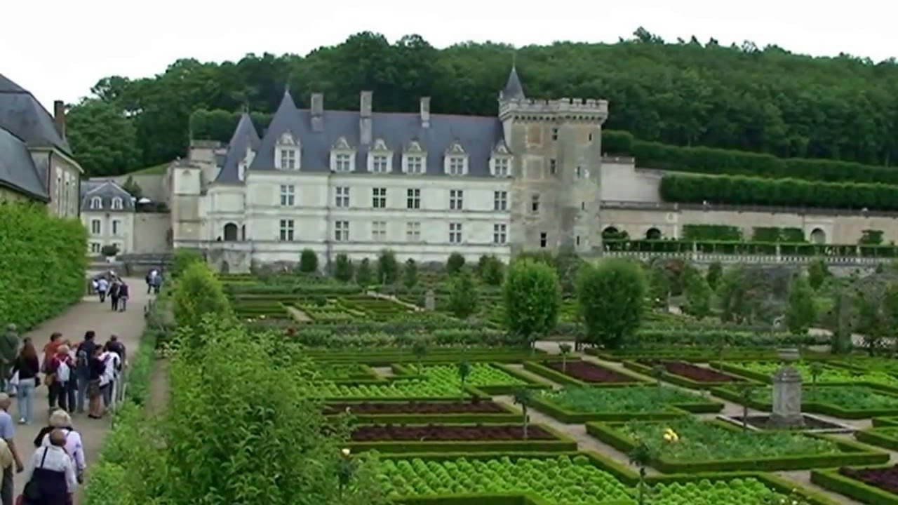 le ch teau renaissance les jardins a la fran aise de villandry youtube. Black Bedroom Furniture Sets. Home Design Ideas