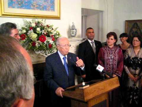 Beji Caid Essebsi A Washington,DC By Faical Chebbi...