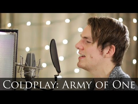 Coldplay - Army of One (piano & vocal cover ft. Tristan Deniet)