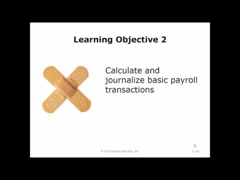 Chapter 11   Current Liabilities and Payroll