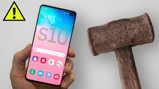 Samsung Galaxy S10 Vs МОЛОТ