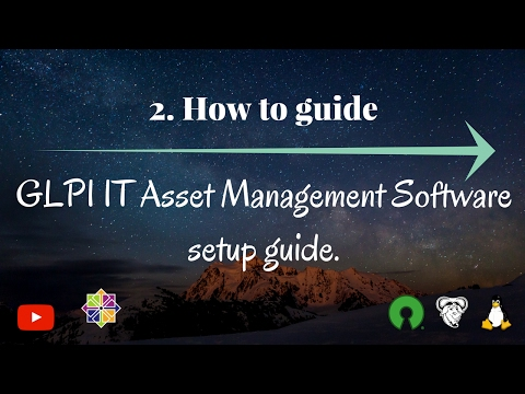 GLPI IT Asset Management Software setup guide